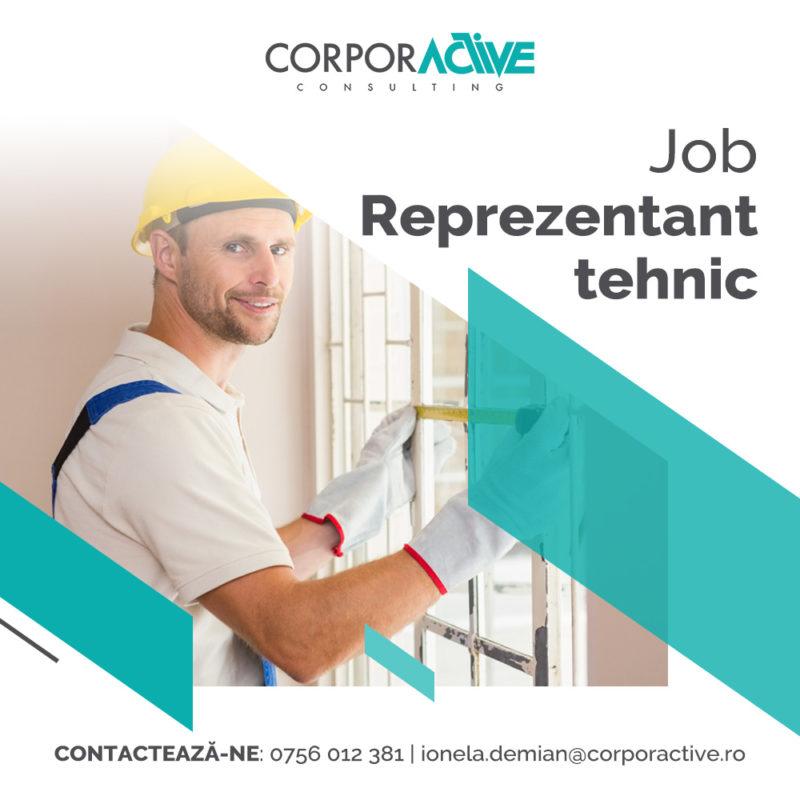 Job Reprezentant tehnic